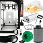 Quantum 600W 4′ x 4′ Air Cooled Tent Package