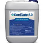 BioSafe Systems SaniDate Sanitizer/Disinfectant 5.0 – 2.5 Gallon