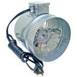 4 inch Duct Fan w/cord, 65 CFM