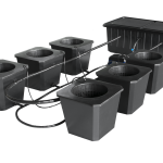 SuperCloset – SuperPonic Bubble Flow Buckets – 6 Site System