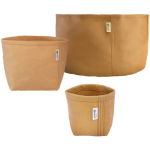 Geopot Self-Supporting Square Bottom – Tan – 400 Gal (Pack of 10)