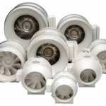 S&P MixVent Inline Duct Fan TD-200X PreWired 8 inch- 508 CFM